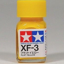 80303 Enamel (Flat) XF3 flat yellow