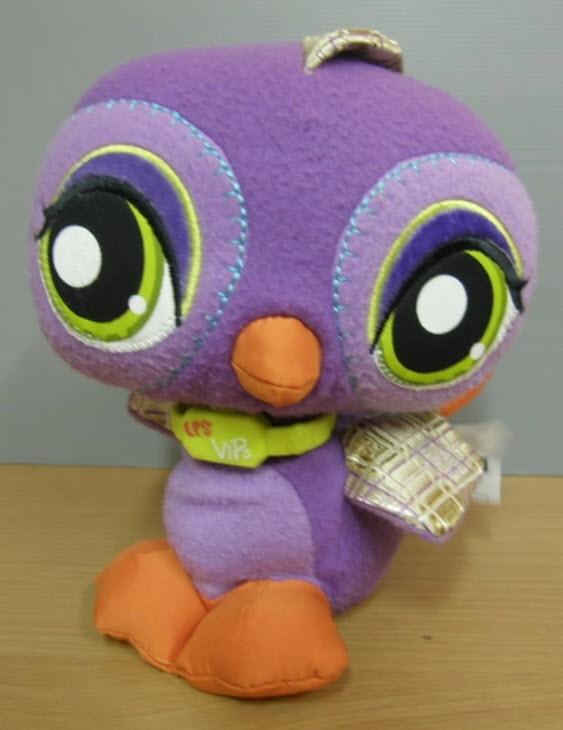 นกยูง สีม่วง ขนาด 9 นิ้ว (Hasbro) มือสอง