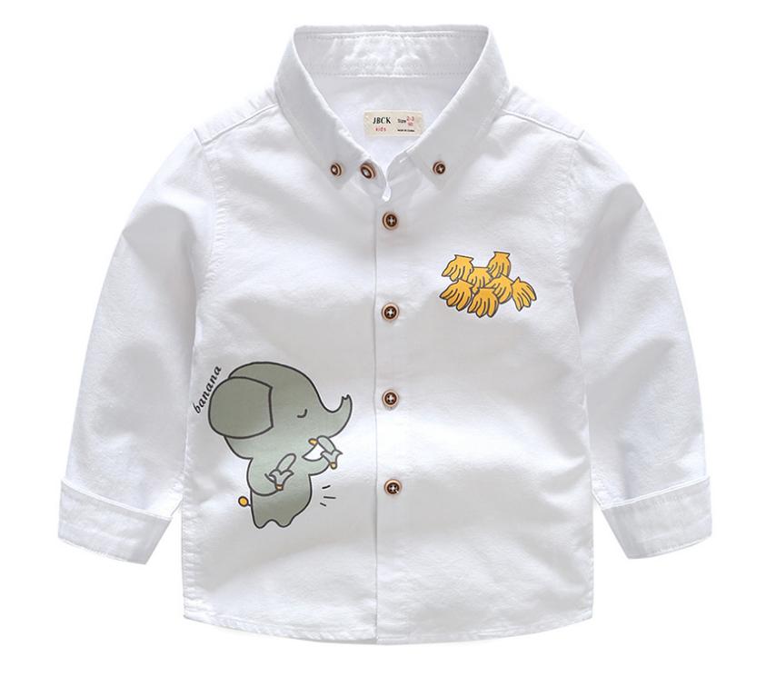 เสื้อ สีขาว แพ็ค 5 ชุด ไซส์ 90-100-110-120-130