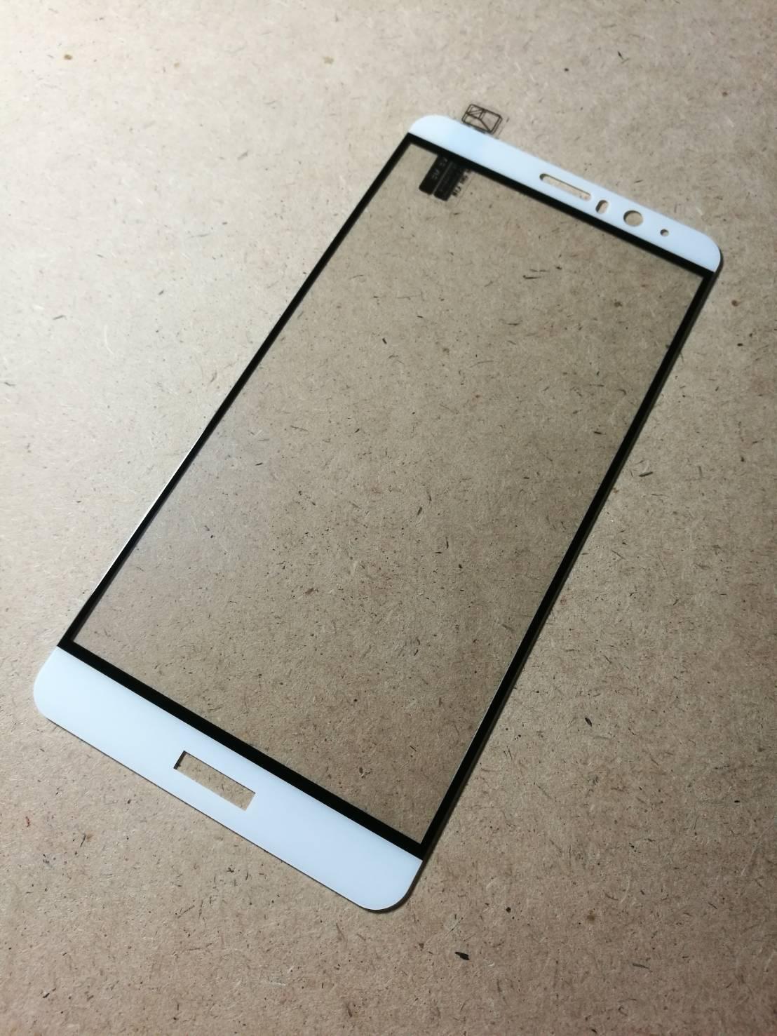ฟิล์มกระจกเต็มจอ Huawei Mate 9 ขอบขาว