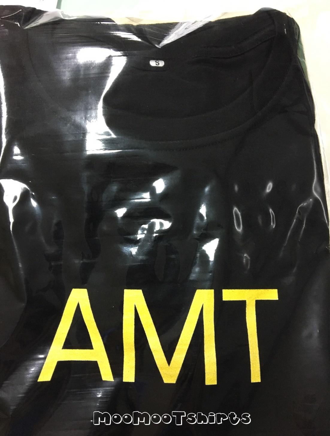 เสื้อยืดสีดำ สกรีนลายตัวอักษรง่ายๆแต่สวยคมชัด งานพิมพ์ด่วนด้วยระบบ DTG สกรีนเสื้อ ราคาเป็นกันเองนึกถึงเรา