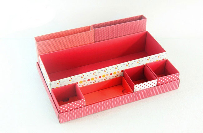 Box in Box (Flora Red)