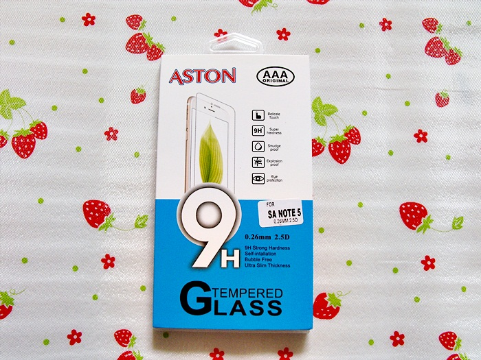 ฟิล์มกระจก Samsung Note 5 (ASTON)