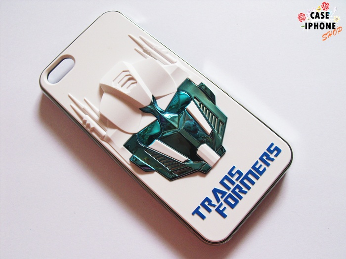 เคสแข็ง 3D ไอโฟน 5/5s ลาย Transformers
