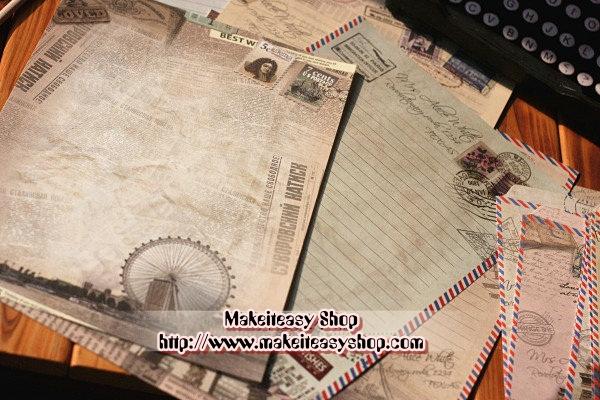 กระดาษเขียนจดหมาย