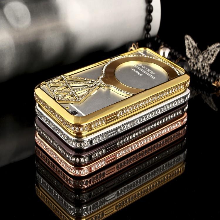 เคสไอโฟน 6-4.7 นิ้ว Shengo ลายเพชร ฝาประกบแหวนเพชร