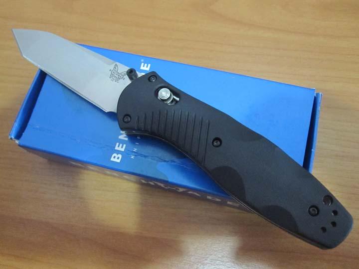Benchmade 583 Osborne Barrage Folding Knife Tanto Blade