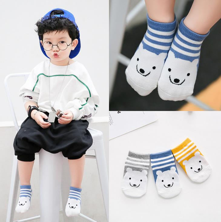 ถุงเท้าสั้น คละสี แพ็ค 12 คู่ ไซส์ M (3-5 ปี)