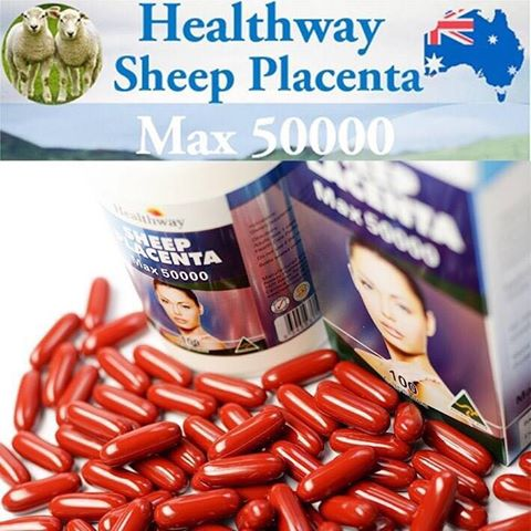 รกแกะ Healthway Sheep Placenta MAX 50000