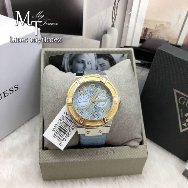 Guess Jet Setter Watch W0289L2