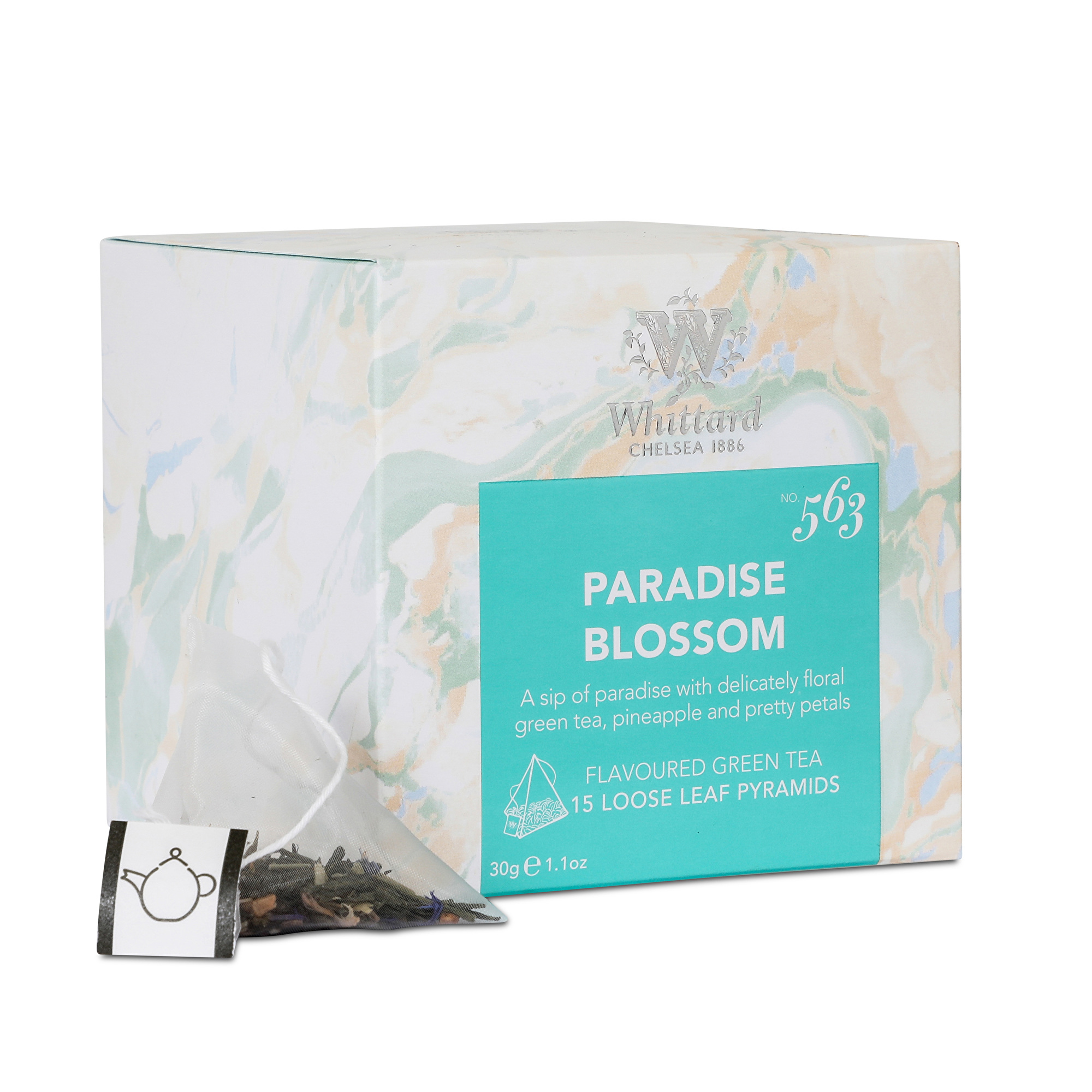 WTB563- Paradise Blossom - 15 Pyramid bags/กล่อง Special Collection