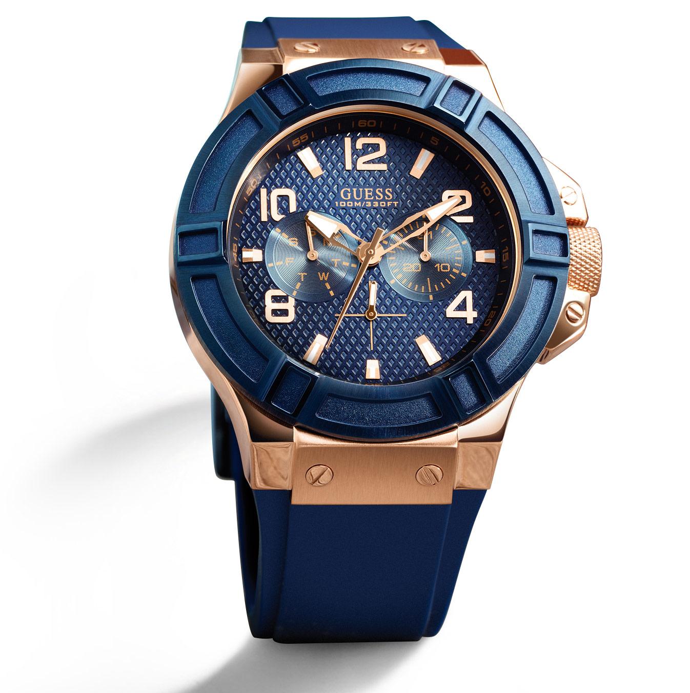 นาฬิกา Guess Men's Watch W0247G3 แบรนด์แท้