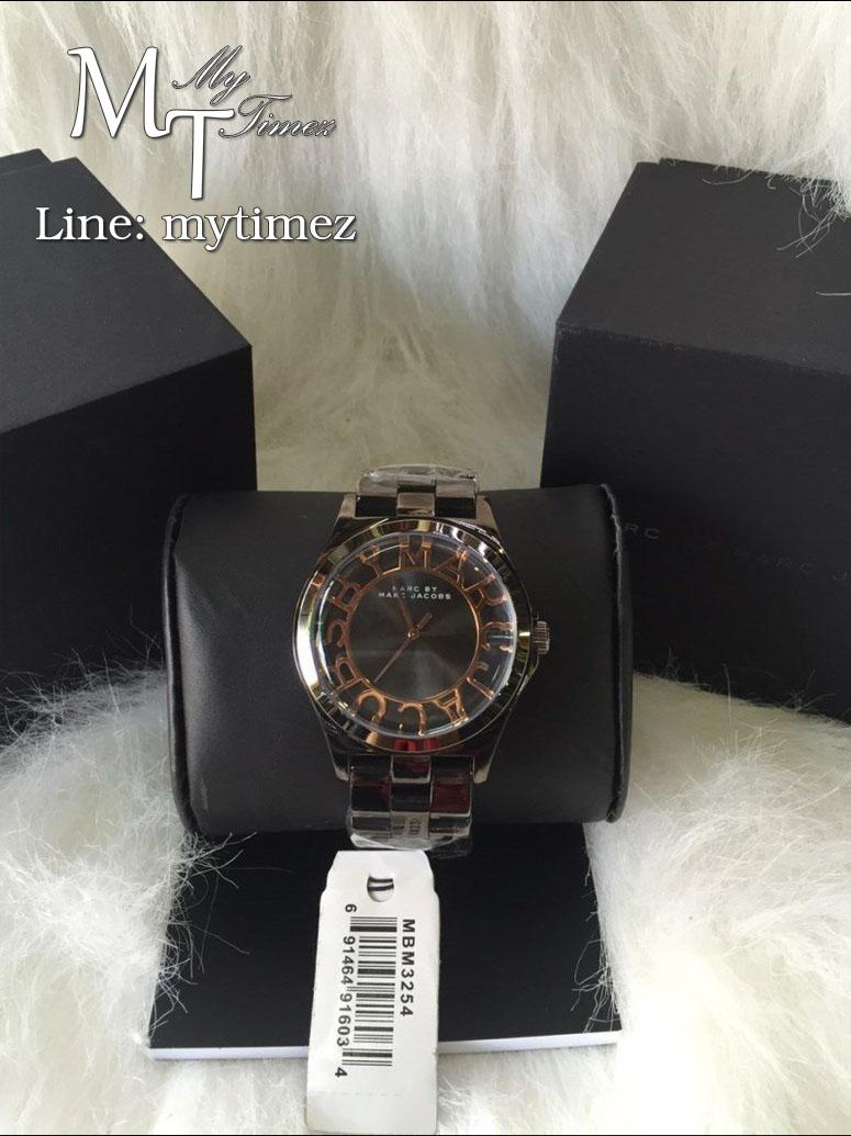 นาฬิกาข้อมือ MARC BY MARC JACOBS Ladies' Henry Skeleton Watch Rose Gold Tone MBM3254