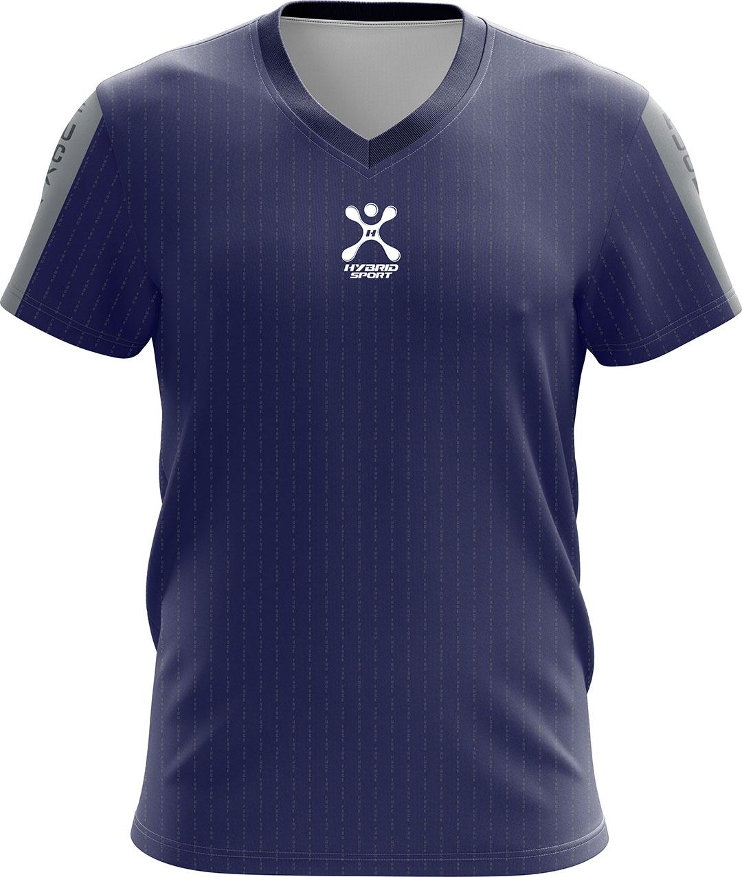 เสื้อ Hybrid Sport รุ่น'' NEW Fxxk You''Limited Edition สีน้ำเงิน / Silver Blue
