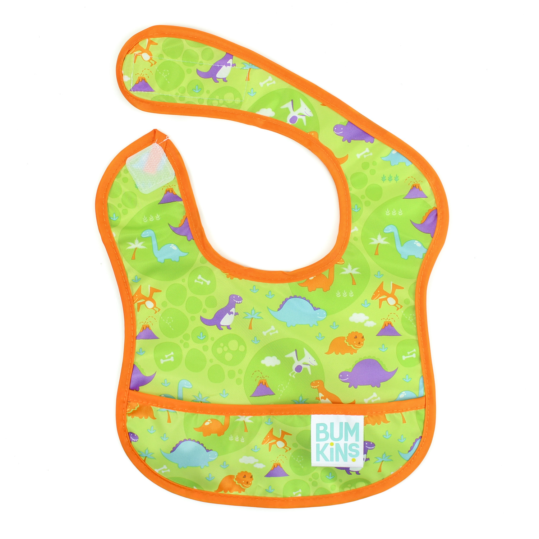 Bumkins ผ้ากันเปื้อนกันน้ำ รุ่น Starter Bib -สี เขียว สำหรับน้อง 3-9 เดือน