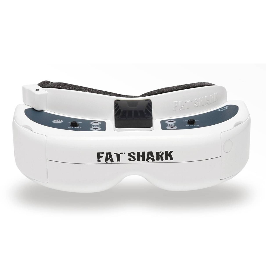 Fatshark FSV1076 Fat Shark Dominator HD3 HD V3 4:3 FPV Goggles Video Glasses Headset with HDMI DVR