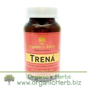 TRENA Ogranic's Herbs 90cap ออร์แกนิก เฮิร์บ ทรีน่า สมุนไพรดูแลผิวพรรณ เพื่อผิวขาวกระจ่างใส เนียนนุ่มชุ่มชื้น ไร้ฝ้า