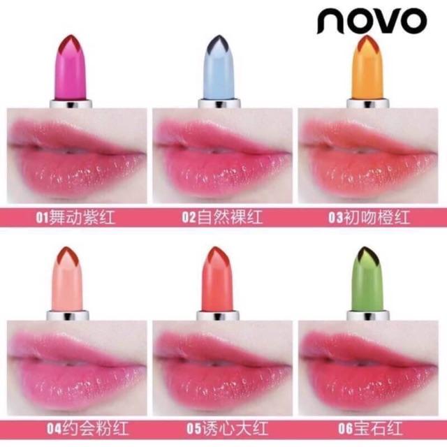 Vera Pure Lipstic Aloe ลิปว่านเปลี่ยนสี Moist Novo Natural