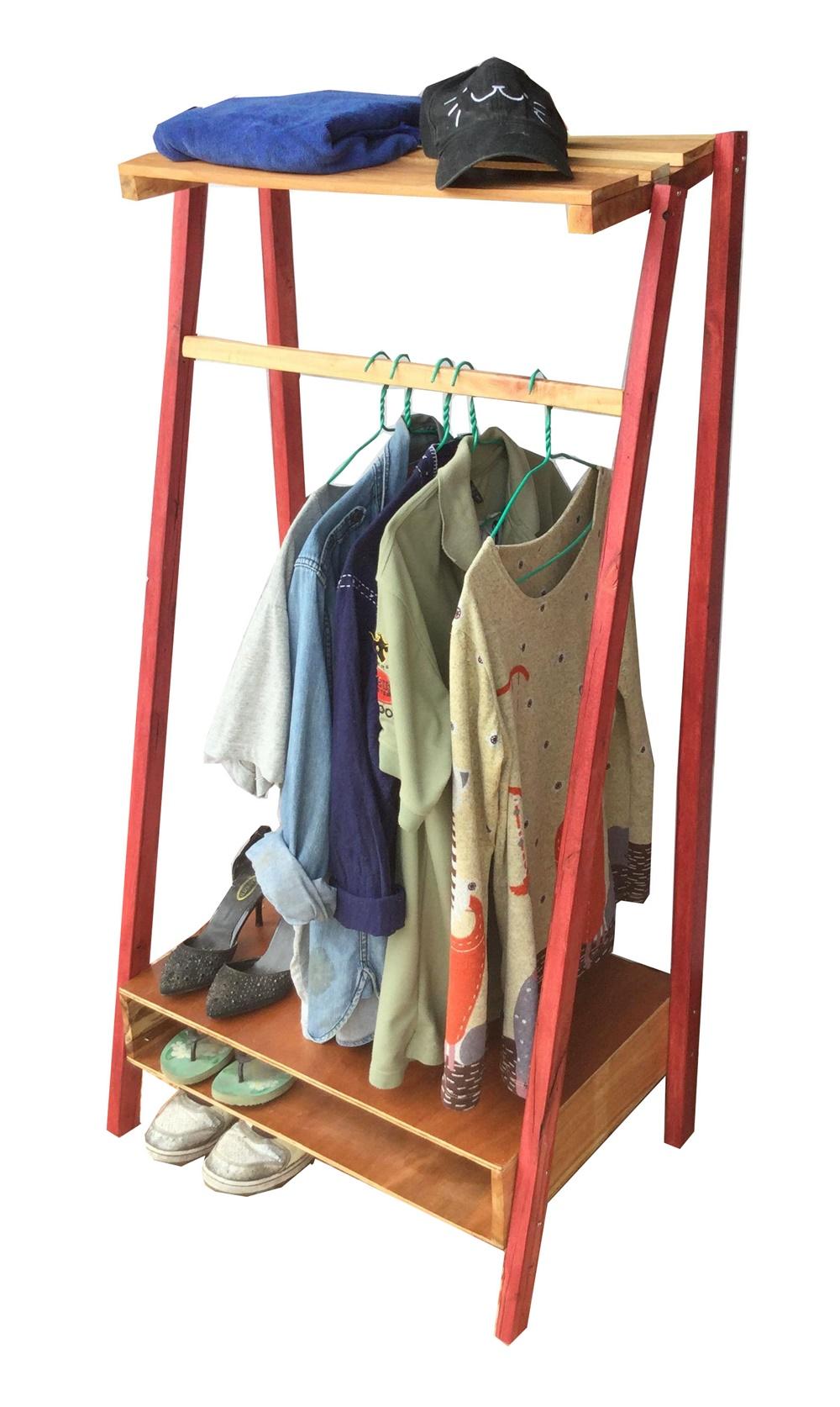 ราวตากผ้า ราวแขวนผ้า อุปกรณ์จัดเก็บเสื้อผ้า