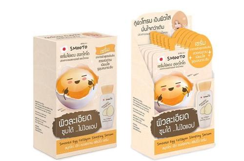 Smooto Egg Collagen White Serum 6 ซอง/กล่อง