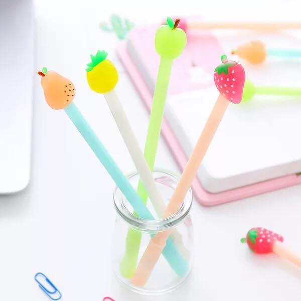 ปากกาผลไม้