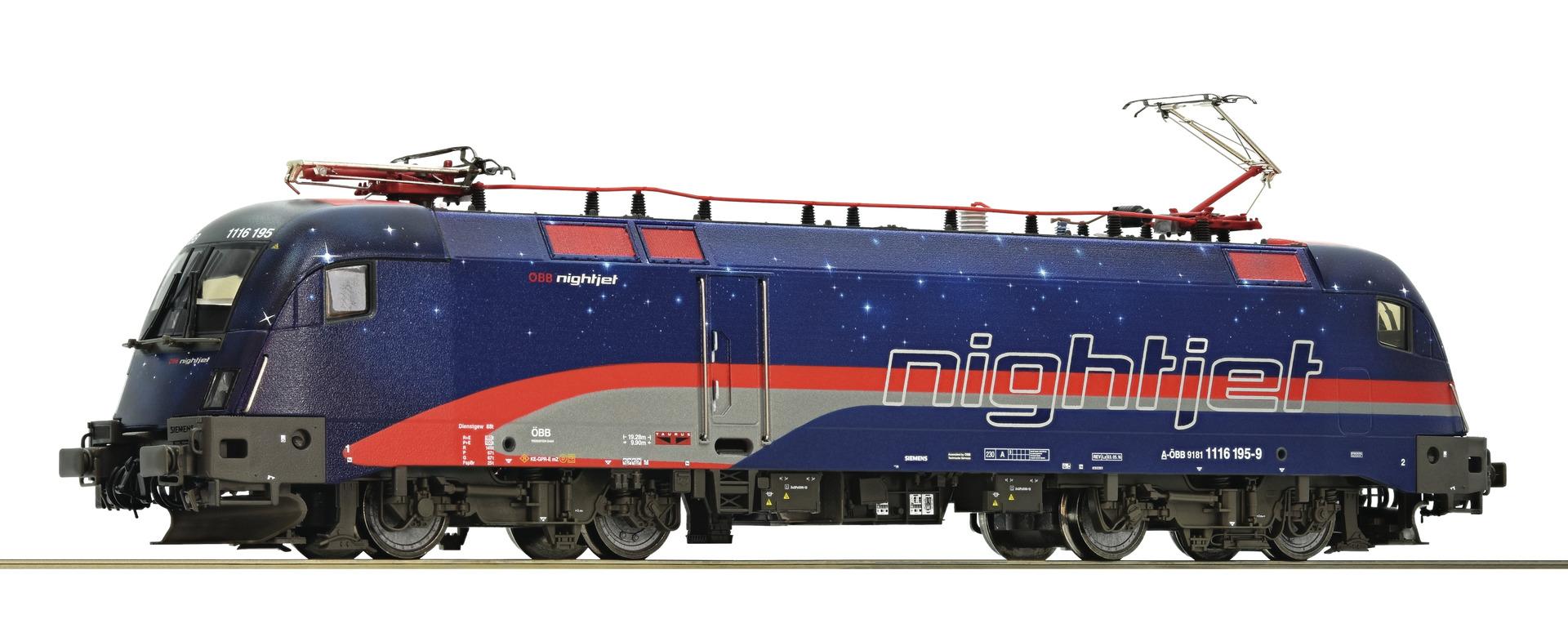 Roco73242 Rh1016 OBB Nightjet, dcc sound