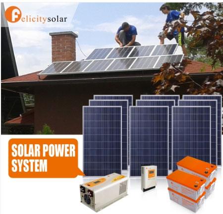 ชุดพลังงานโซล่าเซลล์ 5000VA(3000W) 48V#Felicity Solar Power System 1500VA 48V(3KW)