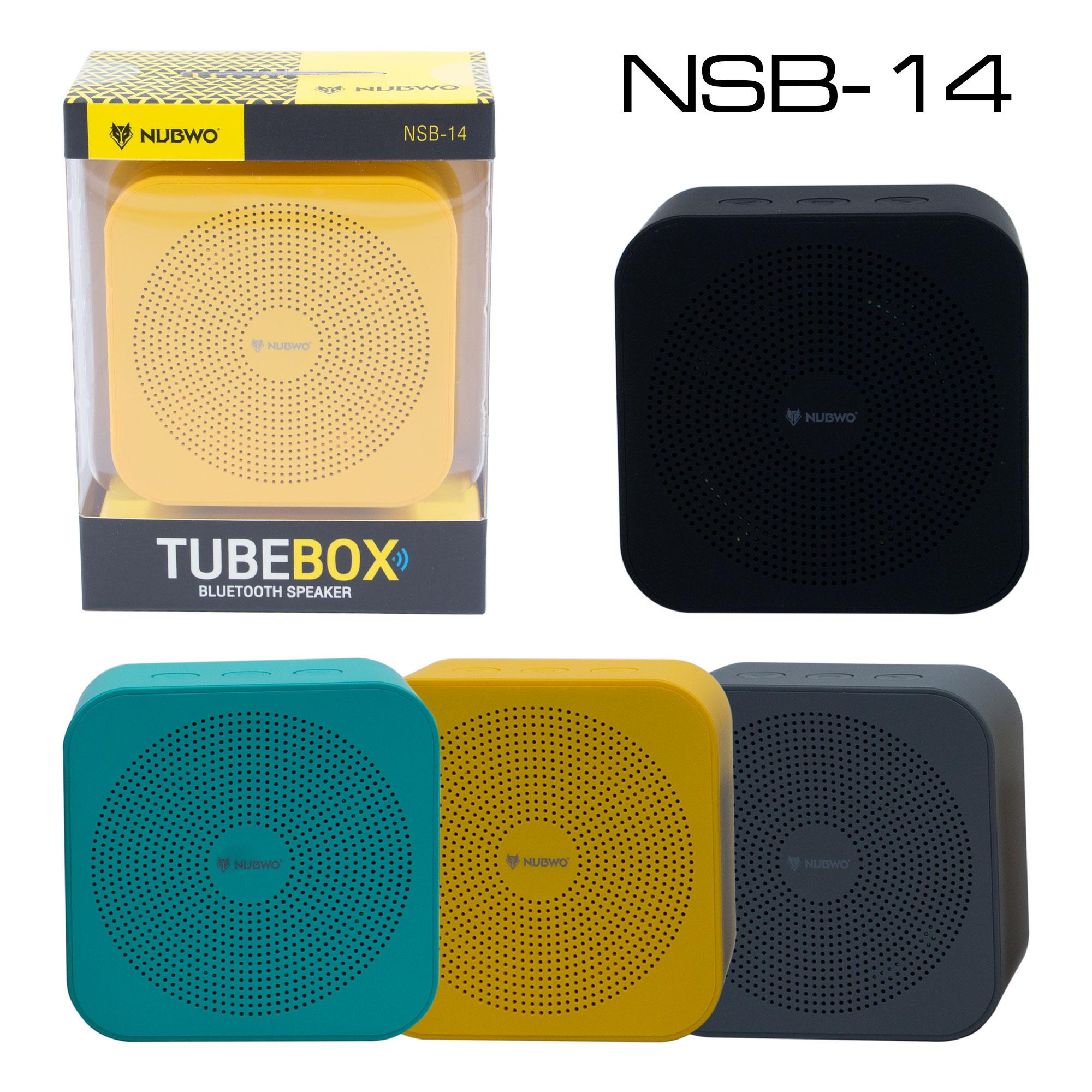 NUBWO TUBE BOX ลำโพง บลูทูธ รุ่น NSB-14