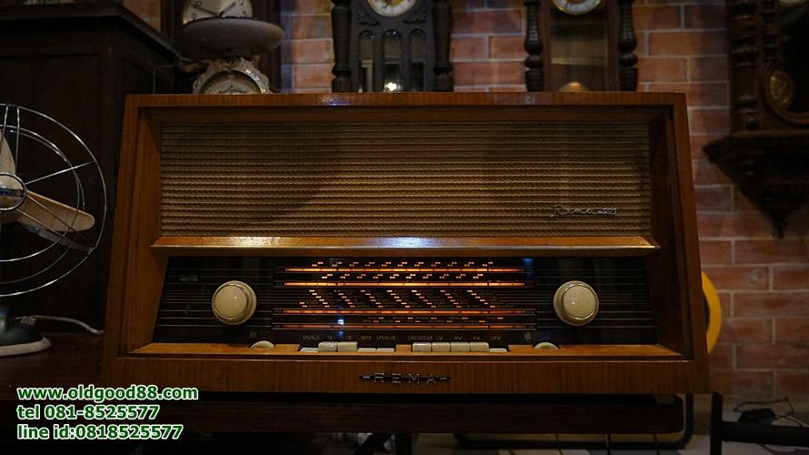 วิทยุหลอด rema ปี1962 รหัส17661re