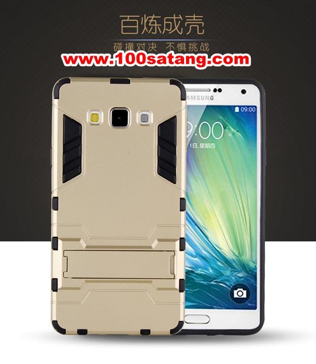 (394-005)เคสมือถือซัมซุง Case Samsung A8 เคสนิ่มกันกระแทกสองชิ้นประกบสไตล์ Iron Man