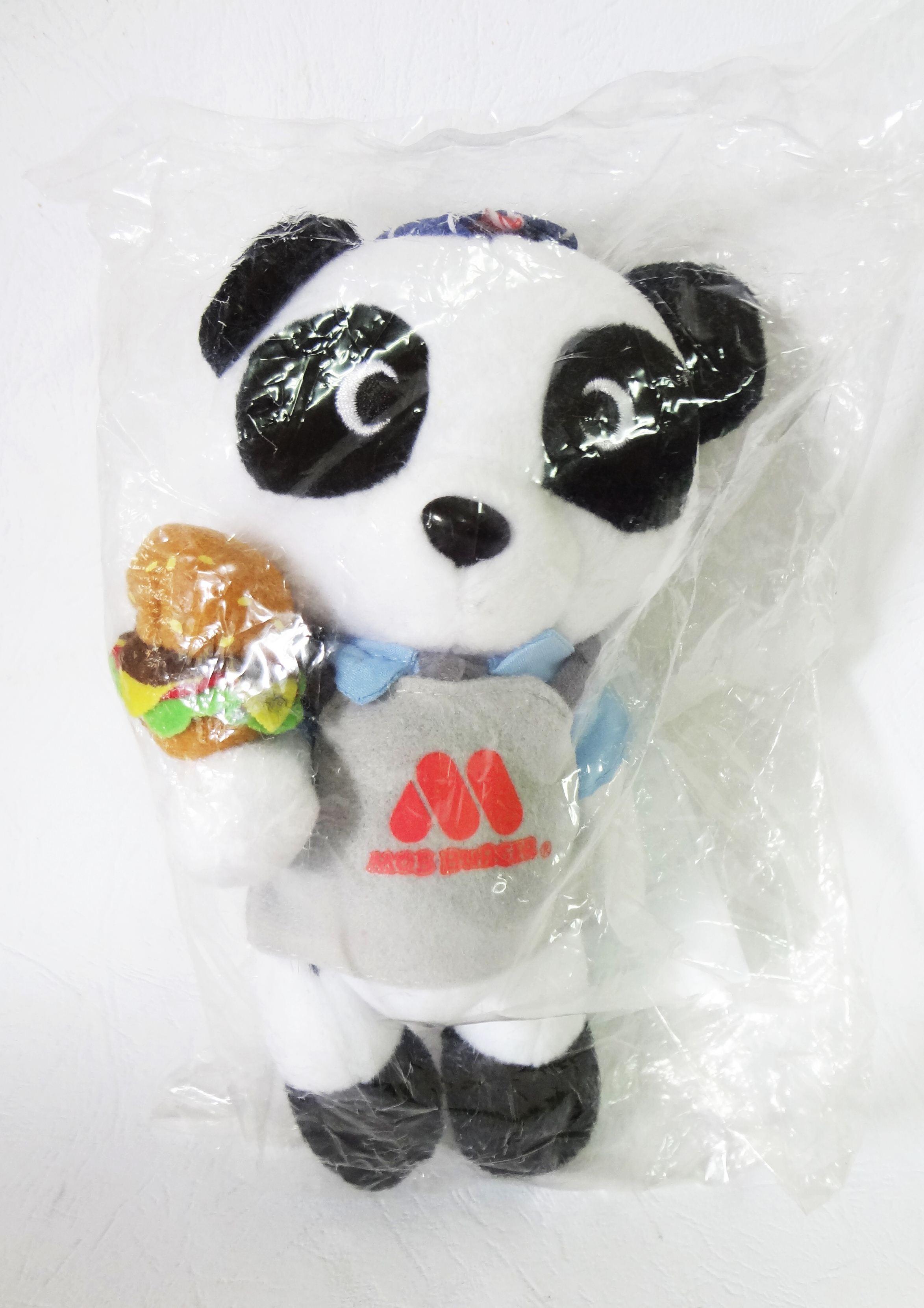 ตุ๊กตาหมีแพนด้า Coca-Cola x MOS Burger Bear