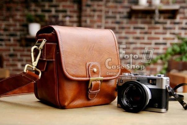 Leather Small size Bag (CS-001)