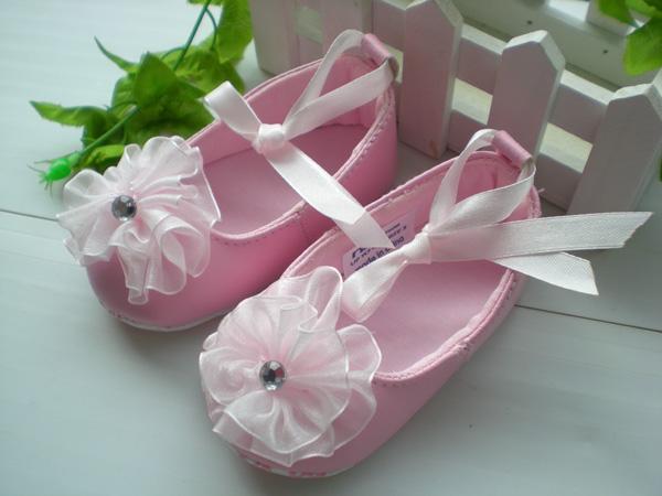 BE2026 (Pre) รองเท้าผ้า สาวน้อย (0-1 ขวบ)