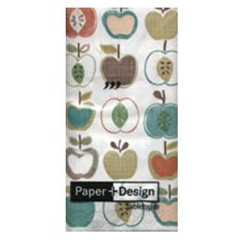 กระดาษแนปกิ้น กระดาษเดคูพาจ 20x20 Apple 01325