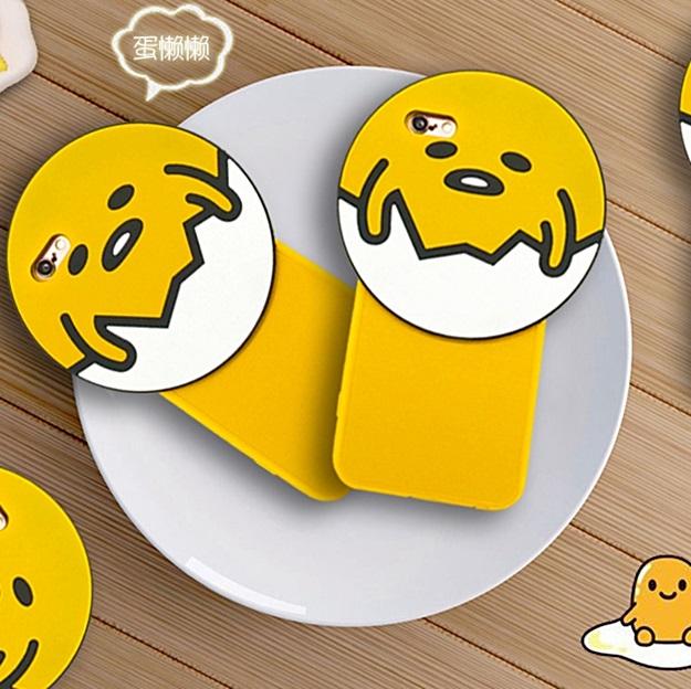 (151-402)เคสมือถือไอโฟน case iphone 6/6S เคสนิ่มไข่ขี้เกียจ 3D