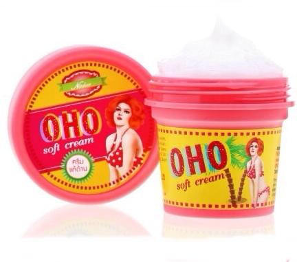 OHO Soft Cream โอ้โห ซอฟครีม ช่วยขจัดเซลล์ ผิวเก่า บริเวณ ข้อศอก หัวเข่า ส้นเท้า ที่แข็งด้าน ดำคล้ำ ให้กลับมานุ่ม ขาว เนียน
