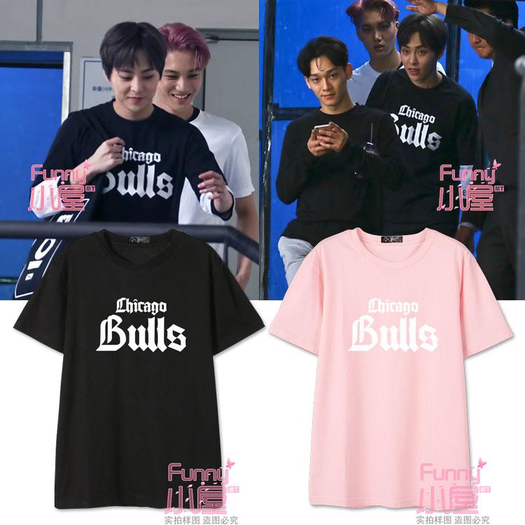 เสื้อยืด Chicago Bulls Sty.EX'ACT Xiumin -ระบุสี/ไซต์-