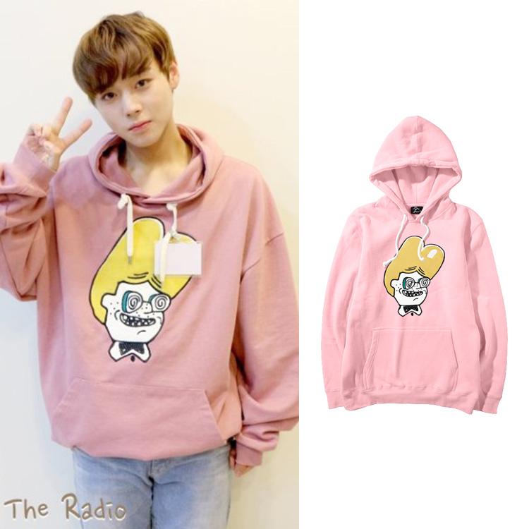 Hoodie Emoticon Sty.Jihoon -ระบุสี/ไซต์-