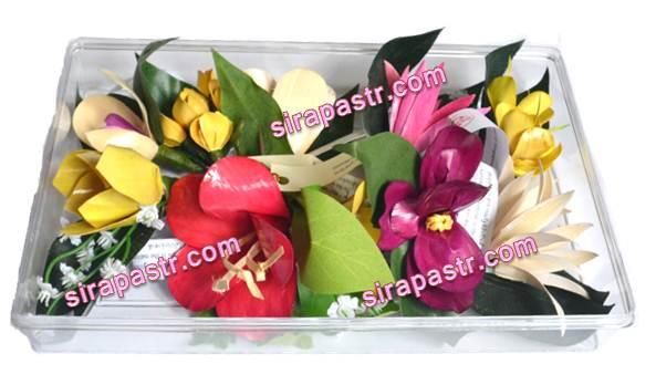 ช่อดอกไม้อาเซียน 10 ประเทศ (พร้อมกล่อง) **สินค้าจำนวนจำกัด**
