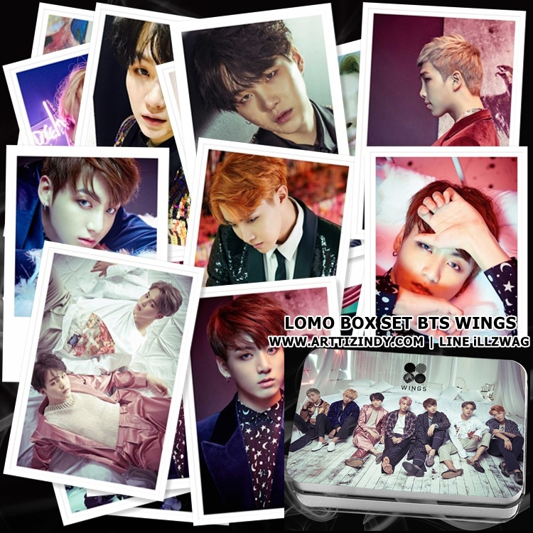 LOMO BOX SET BTS WINGS (30pc)