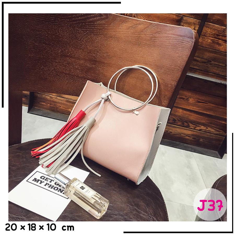 J37-สีชมพู