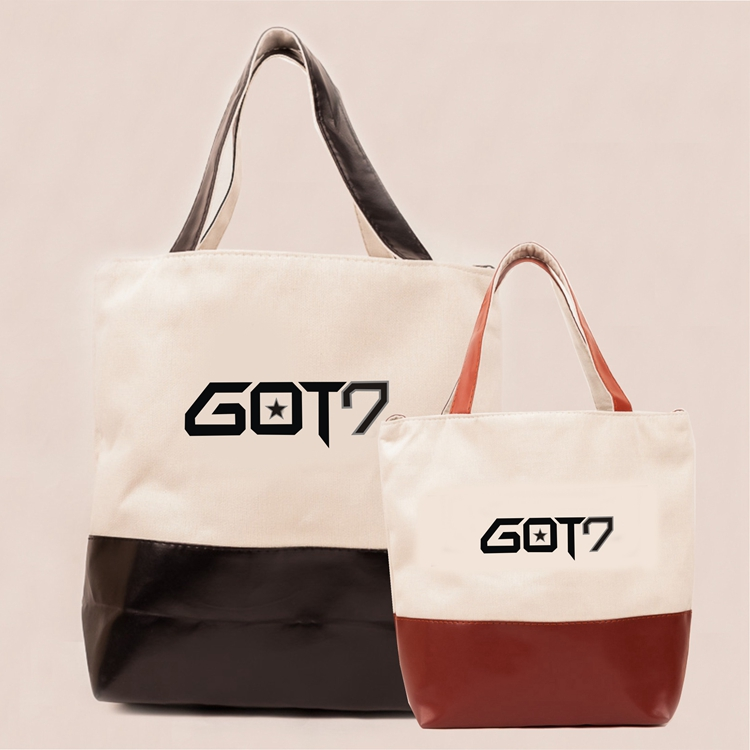 กระเป๋าถือ PU-GOT7-ระบุสี-