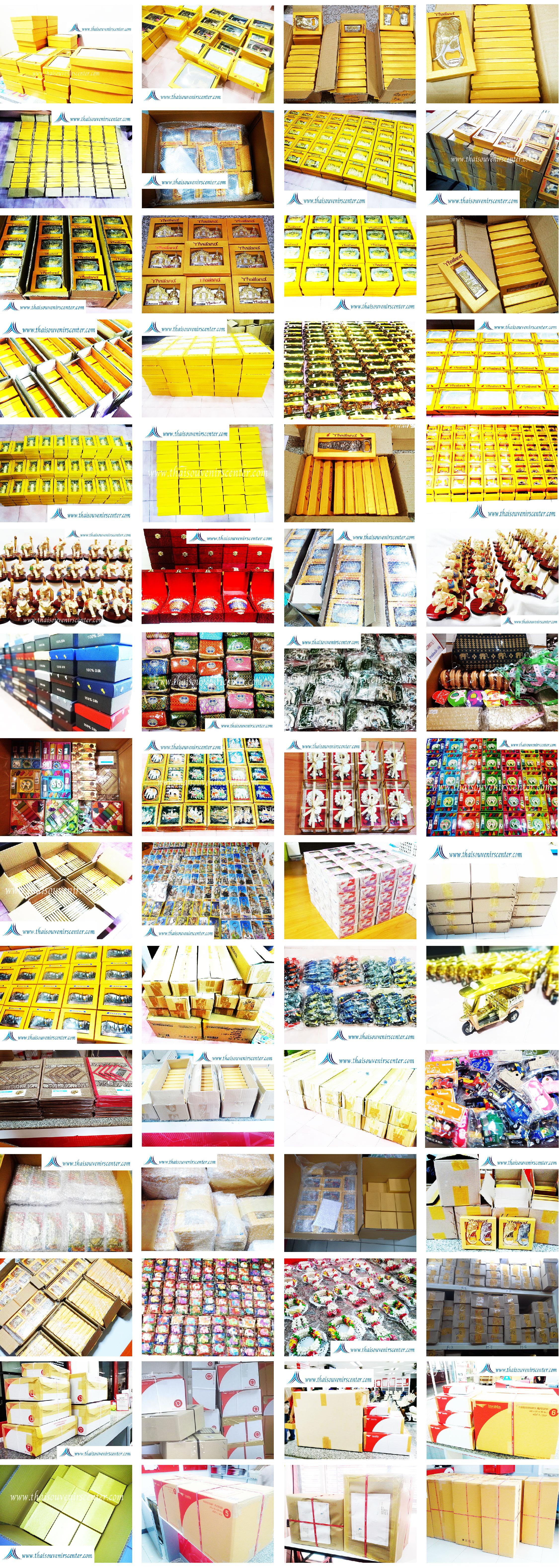 ตัวอย่างสินค้าที่จัดส่งของที่ระลึก ของขวัญ ของพรีเมี่ยม thaisouvenirscenter