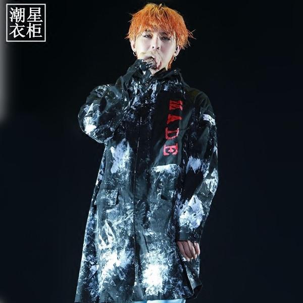 เสื้อคลุมตัวยาว Zipper BIGBANG MADE -ระบุไซต์+