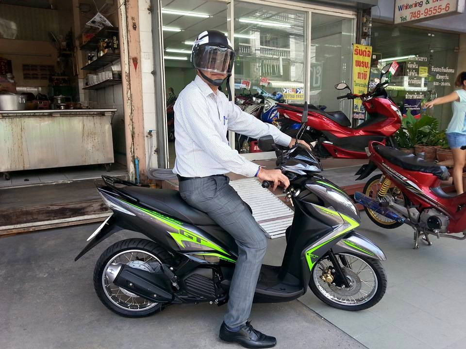 (ขายแล้วครับ) Mio 125i สภาพนางฟ้าไมล์ 700 โล ขอบคุณ Mr.Bhupendra ครับที่อุดหนุนรถที่ร้านปุญญพัฒน์