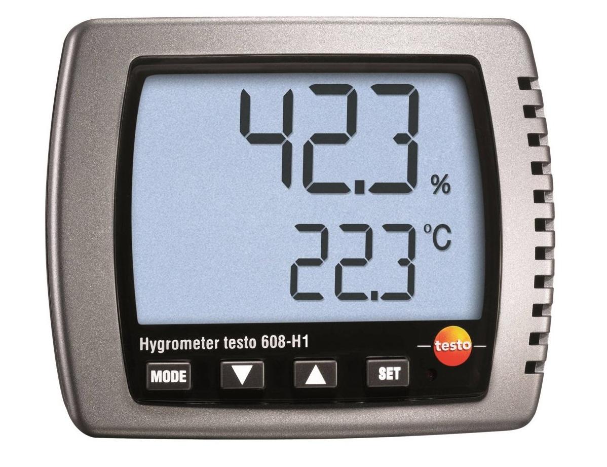 เครื่องวัดอุณหภูมิและความชื้น Testo 608-H1