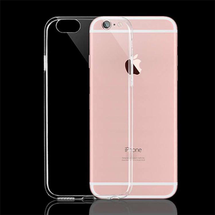 เคสไอโฟน 6 (TPU CASE) เคสนิ่มขาวใสคลุมรอบเครื่อง