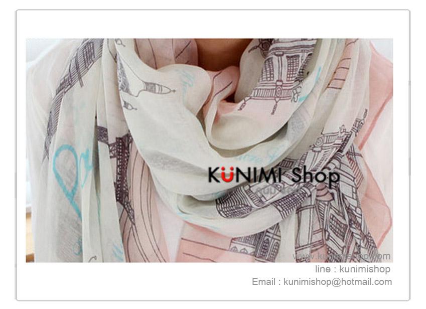 ผ้าพันคอ แฟชั่น ลายสวยเก๋ แบบบาง สามารถใช้พันคอ คลุมไหล่ สวยดูดี ใช้ได้ทุกโอกาส มีให้เลือกหลายสีคะ ขนาด : 90 x 175 cm.