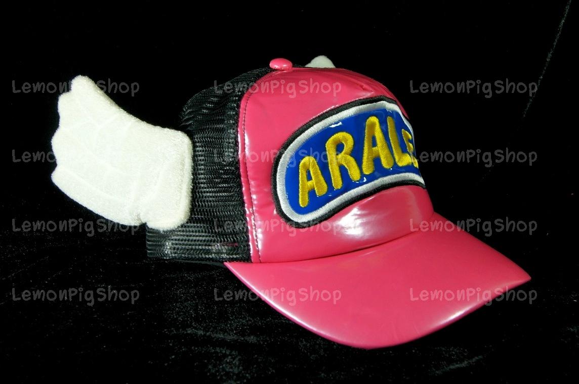 หมวก ARALE อาราเล่ หนังแก้ว สีชมพู