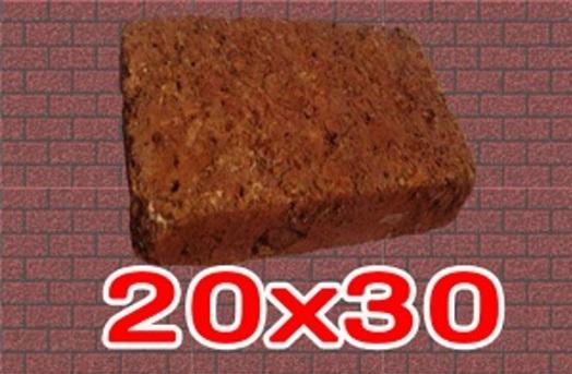 หินศิลาแลงเหลี่ยม ขนาด 20x30 ซม.